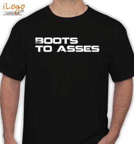 Boots  Asses - T-Shirt