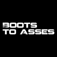 GYM  Boots--Asses T-Shirt