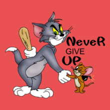 Friendship NEVER-GIVE-UP. T-Shirt