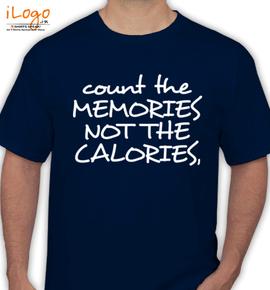 COUNT-YOUR-MEMORIES - T-Shirt
