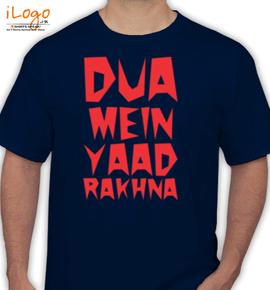 DUA-MEIN-YAAD-RAKHNA - T-Shirt