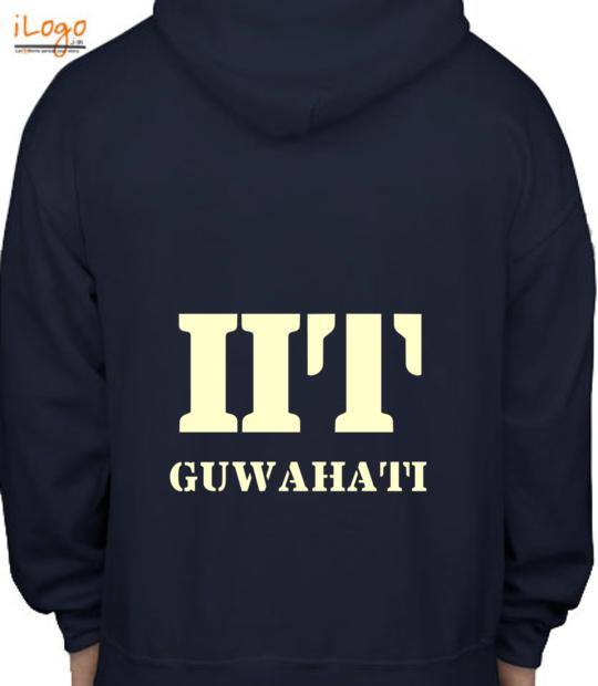 navy blue iit guwahati:back