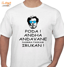 Rajinikanth poda-poda T-Shirt