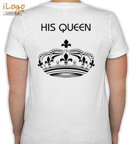 his queen in black