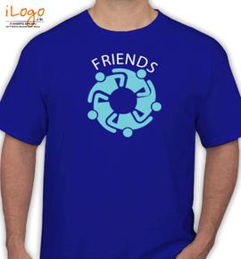 friends circle - T-Shirt