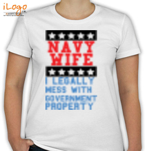 i-legally-mess-with-government-property T-Shirt