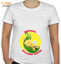 Peek a boo Little-honey-sleeping T-Shirt