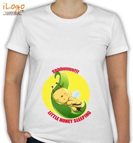 Little honey sleeping - T-Shirt [F]