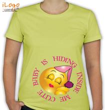 Peek a boo BABY-HIDING T-Shirt