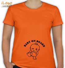 Peek a boo baby-on-board. T-Shirt