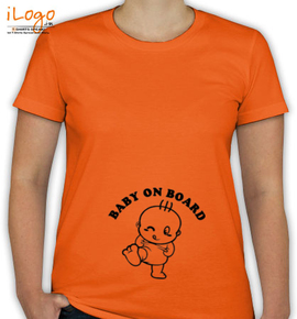 baby on board. - T-Shirt [F]