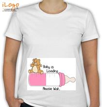 Peek a boo Baby-loading. T-Shirt
