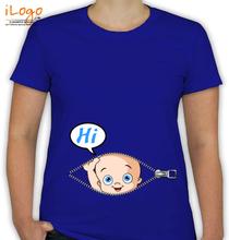 Peek a boo Hi-Baby T-Shirt