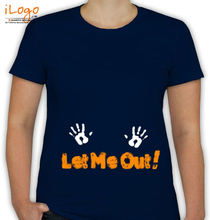 Peek a boo Let-me-out T-Shirt