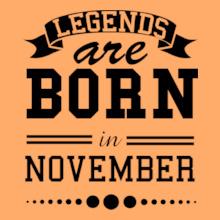 LEGENDS-BORN-IN-november.. T-Shirt