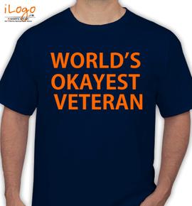 Okayest-veteran - T-Shirt