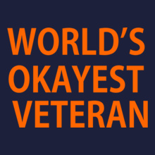 Okayest-veteran T-Shirt