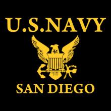 Navy San-diego T-Shirt