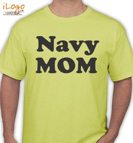 Navy mom proud - T-Shirt