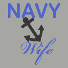 Navy Navy-wife-pride T-Shirt