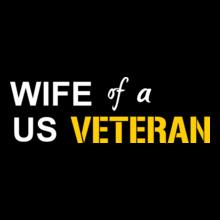 Wife-us-veteran T-Shirt