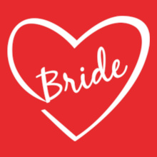 Bride-heart T-Shirt