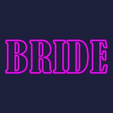 Bachelor Party Bride-Bold T-Shirt