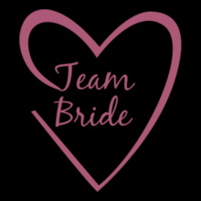Heart-Team-Bride T-Shirt