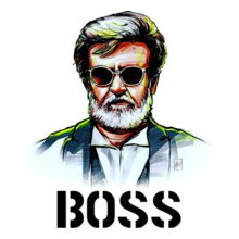Rajinikanth RAJINI-BOSS%C T-Shirt