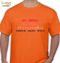 Army He-is-my-everything T-Shirt