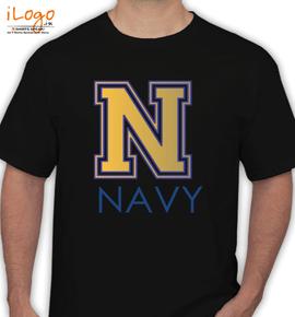 Navy-broad - T-Shirt