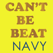 Navy cant-be-beat T-Shirt
