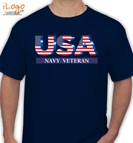 Navy veterantsh - T-Shirt