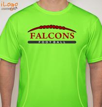 Football Falcons-tshirt T-Shirt