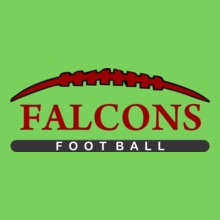 Football Falcons-tshirt T-Shirt
