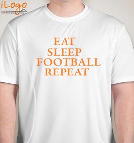 Football-repeat - Blakto Sports T-Shirt