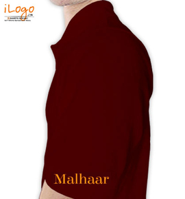 Malhaar Left sleeve
