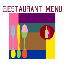 Restaurant-Menu T-Shirt