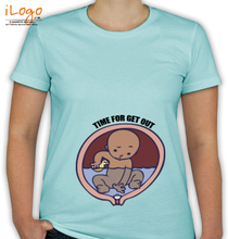 Peek a boo Time-for-out T-Shirt