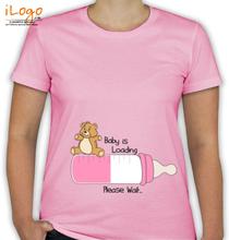 Peek a boo Baby-loading-t-shirts T-Shirt