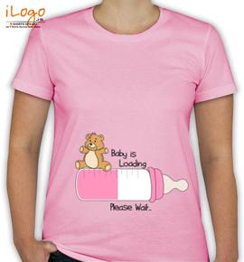 Baby loading t shirts - T-Shirt [F]