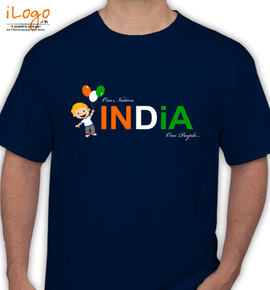 India One Nation - T-Shirt