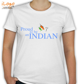 Proud Indian Tshirt - T-Shirt [F]