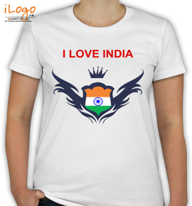 I Love India Tee - T-Shirt [F]