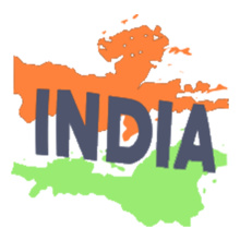 93dcbaeb2e Paint-Your-Own-India-Flag-T-Shirt T-Shirts | Buy Paint-Your-Own ...