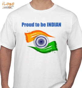 proud to be india - T-Shirt