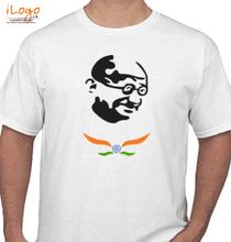 Republic Day Gandhi T-Shirt