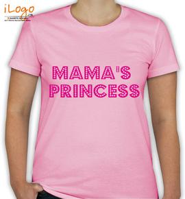 mamas-princess - T-Shirt [F]
