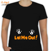 Peek a boo Let-me-come-out T-Shirt