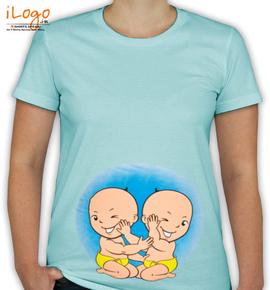 Twins inside. - T-Shirt [F]